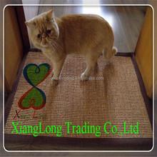 eco-friendly natural sisal cat floor mats