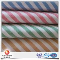 high quality yarn dyed 100 cotton striped oxford cloth fabric