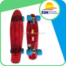 High performance low price plastic longboard 22'' penny skateboard(Original Design)