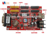 LS-T1 LS-T0 rgb led rf controller express serial port rs232 led control card tf for Indoor and outdoor module
