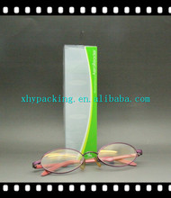 Custom small clear plastic box with fold printing box for safety glasses packaging factory