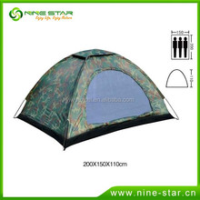 New style waterproof 3 person camping tent