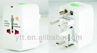 Universal travel plug adapter can use for 150 countries eu uk au us plug