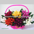 flor artificial tulipa flor da decoração
