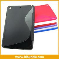 for iPad mini S line shape styles tpu pouch handbags