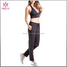 Dry Fit Nylon Spandex Women Comfortable Gym Fitness Pants Custom Yoga Clothes
