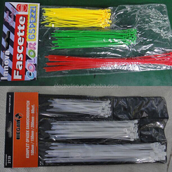 Heavy Duty Nylon Cable Tie Full Size 100 Pcs/Bag Nylon 66 Material