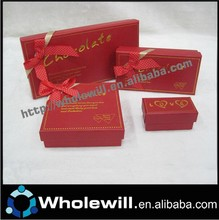 Wholesale Different Shapes Fancy Paper Chocolate Gift Box