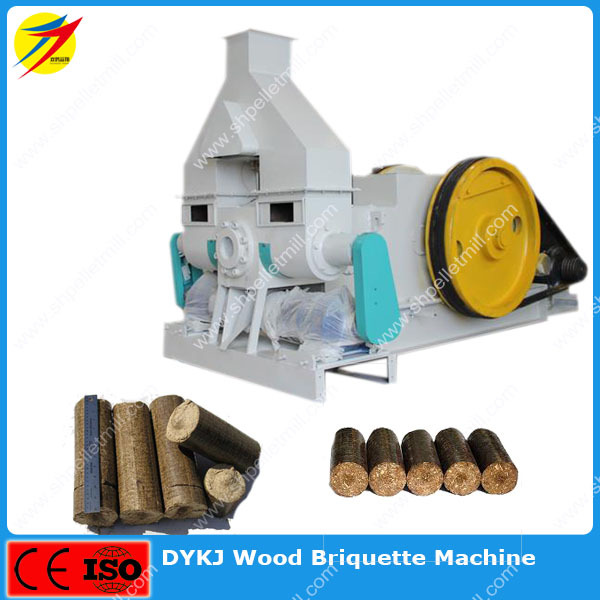Sawdust briquette making machine with ce