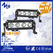 Buy 10 get 11!popular China retail led strip light spot beam Led head light 40w off road led working lights YTLB40D