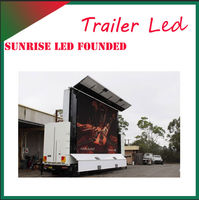High deifinition LED big screen truck car window display advertising, heavy video , online games, live competition broadcast.