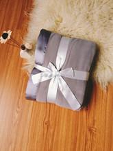 Silk termination colorful gift blanket throw