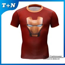 polyamide shirt, curve hem shirt, marvel clothing