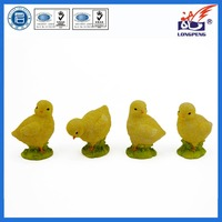 Polyresin Easter Day Old Chicks Figurine,Resin Easter Chicken Decoration