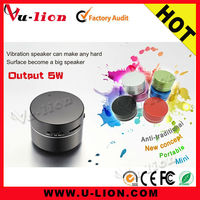 NEW Arrivals Original Manufacturer Portable Vibration Speaker With Suction Cup
