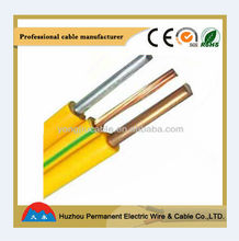 Professional Manufacturer Outlets House Using Electric Wire Color Code Conductor Cable BV Wire
