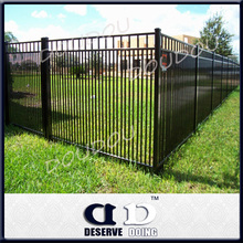 Manufacturer! PVC painted Durable iron forged ornamental picket fencing