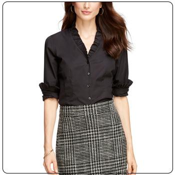 Formal Shirt Design For Ladies
