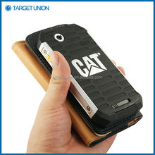 Wholesale Good Price Material for CAT B15 Leather Case Cover
