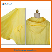 Promotional waterproof safety rain poncho 2014 new