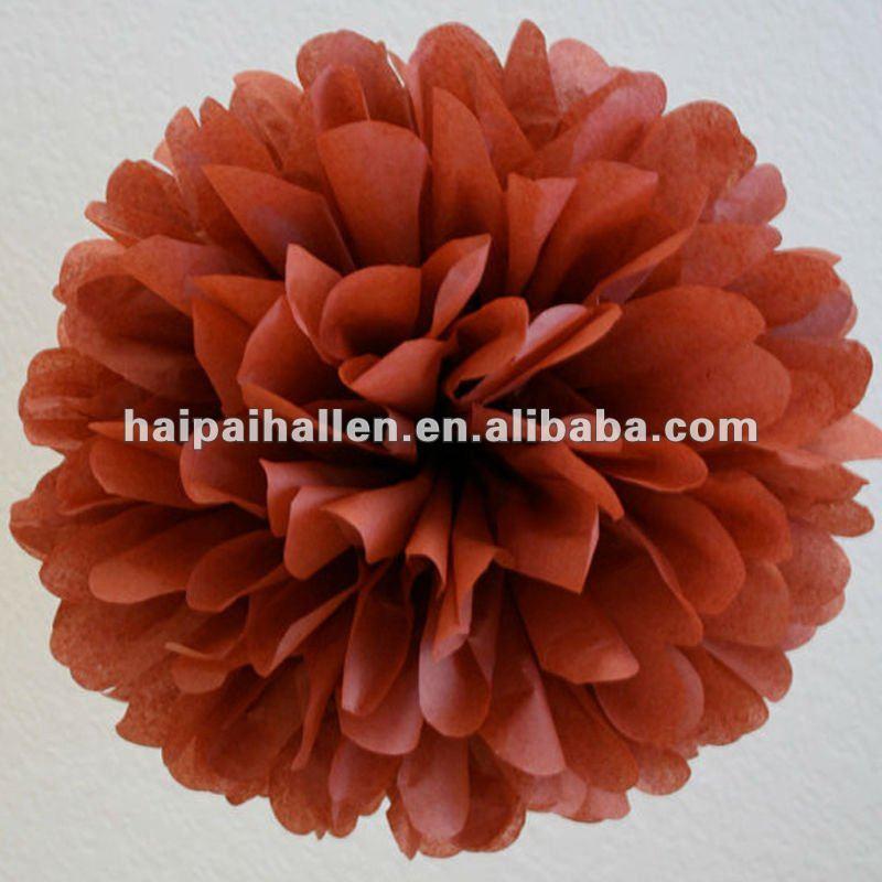 """12 """" Handmade Tissue Paper pompons Wedding Party Poms Pom decoração"""