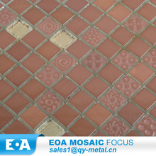 Golden Select Glass And Stone Mosaic Wall Tiles Glass Mosaic Tile Bathroom Natural Pearl Price