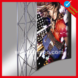 matal 2015 best selling Floor standing folding poster stand
