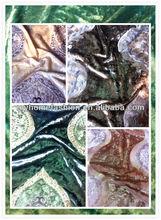 High Quality Embroiderd Velvet
