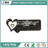 screen printing hangtags for private brand cloth