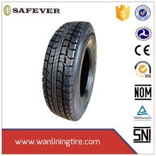 Excellent anti side skid radial truck tyres especially for truck and bus