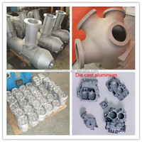 Cast aluminum for electrical industry