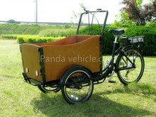 China cheap Hot Sale Three Wheel 24 Inch,6 Speeds Electric Cargo Bike/bakfiets/cargobike