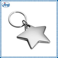 silver colour short bullet keychain with OEM design
