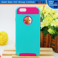 Strong Protector 2 In 1 TPU Inside PC Hybrid Case for iPhone 6 Plus Shockproof Cover