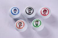 Promotional Logo Customized Cheap 2 Piece Golf Ball