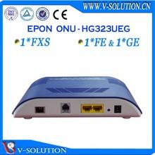 V-solution optical network 1fxs + 1fe + 1ge voip sfp onu epon