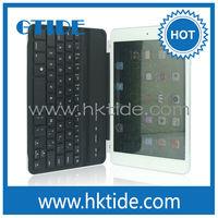 Smart ABS scissor switch wireless bluetooth keyboard aluminum cover for iPad mini iPad mini retina display and iPad mini 3
