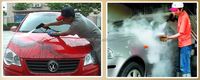 Hand car wash mobile steam car wash machine
