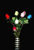 Hot sale Artificial Flower European rose bud Rose For Wedding Christmas rose flower