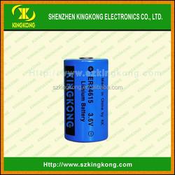 er34615 3.6V ER34615 19000mAh gp lisocl2 cylindrical lithium dry cell battery