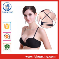 Hot selling pictures of women in transparent uomo underwear bra new design
