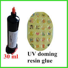 Acrylic transparent crystal glue adhesive UV doming resin UV-9630