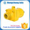 male/female threaded union pipe fitting steel hose rotary joint