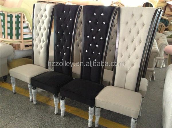 Colorido botón real sillas de comedor con alta calidad y precio ...