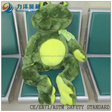 Plush frogfor kids, Customised toys,CE/ASTM safety stardard