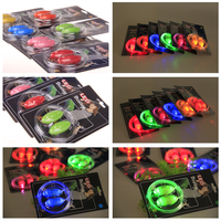 2015 NEW YEAR led flashing shoelace