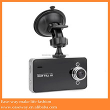 K-2000 dual camera car camcorder/dvr camera/car traffic dashboard , 2.4 inch screen car camera dvr video recorder