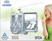 Advanced Electronic Controlling System Portable Dental Unit with Scaler and Curing Light