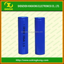 CE certificated Top selling Samsung 18650 high capacity 1000mah 3.7v rechargeable li-ion battery with PCB protected