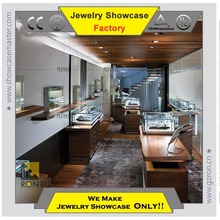 High quality wooden retail store furniture display for jewelry